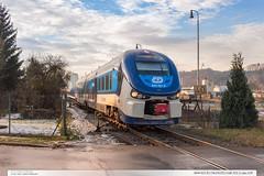844.021-6 | Os14225 | tra 331 | Lpa n.D. (jirka.zapalka) Tags: winter train czech cd os stanice trat331 lipanaddrevnici rada844