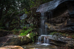 Another storm, another waterfall (Mick Fletoridis) Tags: longexposure summer seascape water waterfall sydney australia canonlens leefilters sonyimages sonya7s