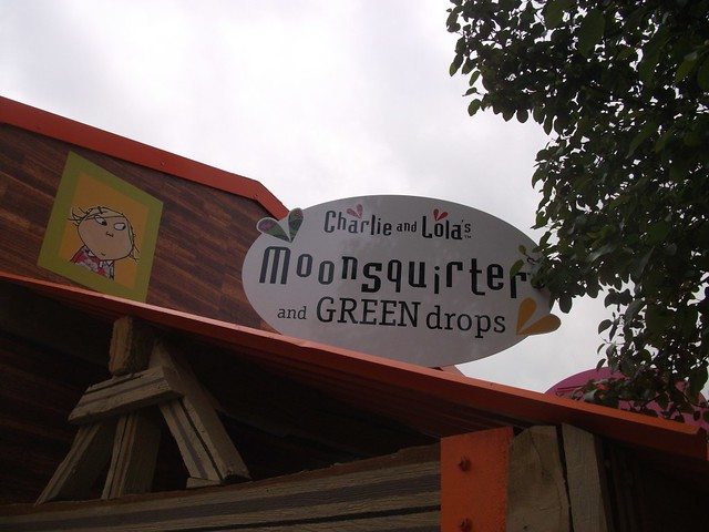 Charlie and Lola's Moonsquirters & Greendrops - Entrance Sign
