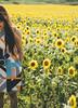 summer of memory (another side view) Tags: summer portrait woman sunlight art nature japan female 50mm artwork nikon sigma sunflower artline naturepeople womanportrait nikondf 50mmart