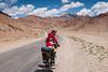 Slightly downhill to Murghab (Michal Pawelczyk) Tags: road trip holiday bike bicycle june nikon asia flickr aim centralasia pamir gosia wakacje 2015 czerwiec azja d80 pamirhighway gbao azjasrodkowa azjacentralna