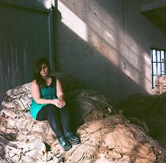 Paula (www.marianafuenteszamorano.com) Tags: portrait film argentina analog mediumformat buenosaires grain 400asa 120mm kodakfilm rolleicord ilovefilm kodal filmnotdead