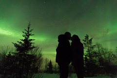 A Special Kiss (enrico.tedeschi) Tags: winter wild people mountain cold green love nature colors beautiful norway pine landscape scenery kiss colorful europe flickr colours natural pentax wildlife aurora auroraborealis inexplore pentaxian pentaxians
