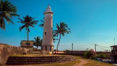 Galle Fort LIGHT HOUSE (Roch32) Tags: travel lighthouse dutch tour fort srilanka lk galle trekwings