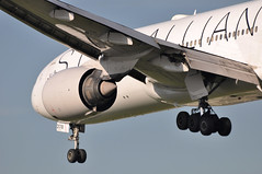 UA0923 LAX-LHR (A380spotter) Tags: london heathrow united engine landing finals boeing arrival powerplant approach 777 ual lhr ua threshold prattwhitney staralliance egll turbofan laxlhr 27r 200er pw4000 n218ua pw4090 runway27r shortfinals unitedairlinesinc ship2018 ua0923