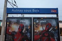 c'est cris dessus (Petit_louis) Tags: gare aulnay aulnaysousbois rerb