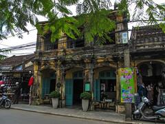 """Hoi An: la quartier colonial français et ses arcades <a style=""""margin-left:10px; font-size:0.8em;"""" href=""""http://www.flickr.com/photos/127723101@N04/24494156250/"""" target=""""_blank"""">@flickr</a>"""