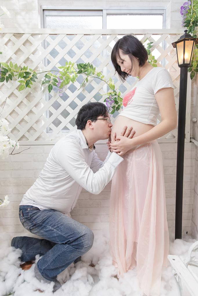 孕婦寫真,孕婦攝影,蘿絲可可,孕婦棚拍,Doris019