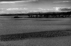 Grey (Roman_P2013) Tags: winter sky white lake black ice norway clouds landscape grey norge frozen al view shot best