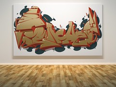 Visualization of digital sketch (Sasha_Sunches) Tags: graffiti russia letters style letter sashasunches
