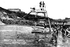 South Bay Bathing Pool (storiesfromscarborough) Tags: history pool swimming seaside scarborough southbay divingboard outdoorpool waterchute bathingpool openairpool southbaybathingpool