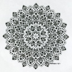 (Mashmuh) Tags: art tattoo architecture illustration sketch artwork paint artist graphic drawing geometry traditionalart sketching mandala ornament draw tattooart     dotwork   zentangle  mashmuh dotworkers