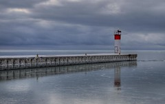 Port Dover (a56jewell) Tags: blue lighthouse water lakeerie portdover janwinter a56jewell