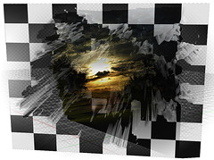 Chess at Sunset (Jocarlo) Tags: light sunset sky blackandwhite sun abstract art luz sol backlight clouds ngc chess amanecer adobe nubes photowalk imagination editing genius abstracto melilla ajedrez nationalgeographic specialeffects photografy iluminacin photograpfy afotando flickraward sharingart arttate magicalskies montajesfotogrficos photowalkmelilla crazygenius crazygeniuses pwmelilla blinkagain jocarlo creativephotografy flickrstruereflection1 magicalskiesmick clickofart soulocreativity1 flickrclickx adilmehmood creativeartphotografy