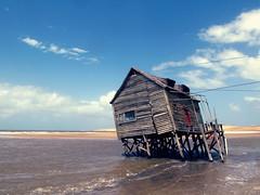 Guarda (Matías Nadaf) Tags: sky beach uruguay mar playa architect cielo construccion choza sudamerica valizas chiringo