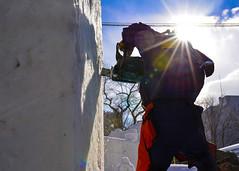 160131-N-OK605-026 (nafmisawapao) Tags: chainsaw snowsculpture sapporosnowfestival navalairfacilitymisawa surfacewarfarepin