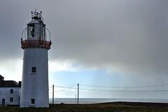 loop head lighthouse (jakeylows) Tags: ireland sea cliff lighthouse countryside cliffs atlantic shannon moher kilkee coasting loophead
