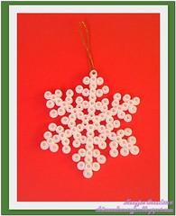 Hama Navidad Cristal de Hielo con Marca de Agua (maryjoecraft) Tags: christmas navidad perler icecrystal hamabeads cristaldehielo