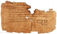 elements (gurkan.ozsoy) Tags: elements papyrus euclid oxyrhynchus