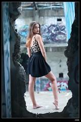 nEO_IMG_DP1U6615 (c0466art) Tags: africa portrait black west portugal girl beautiful canon pose island blood model action gorgeous ruin style skirt professional short marta charming elegant sao  tome 1dx c0466art