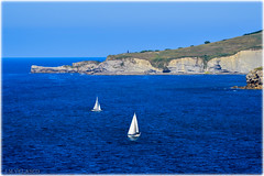Mmoires de l't (440_502) Tags: espaa de mar san gijn asturias lorenzo cimadevilla baha asturies xixn cantbrico cimavilla