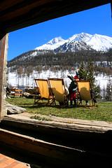 Mountain View (Suresh PS) Tags: snow france mountains alps canon skiing frenchalps fouillouse canoneos400d hauteubaye