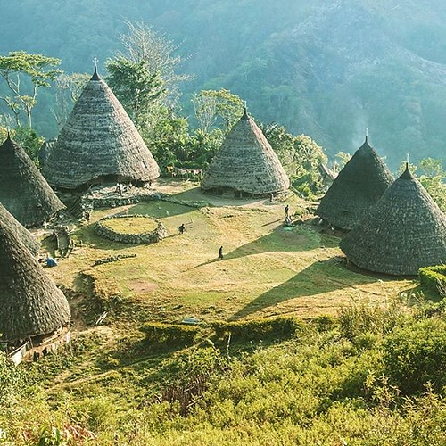 The traditional village of Wae Rebo in the district of Manggarai on the island of Flores. has recently received the Top Award of Excellent from UNESCO in the 2012 UNESCO Asia Pacific Heritage Awards, announced in Bangkok on 27 August 2012. This small and