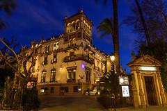 Hotel Alfonso XIII (David Andrade 77) Tags: urban espaa hotel sevilla andaluca spain seville urbana alfonsoxiii espagne hispalis