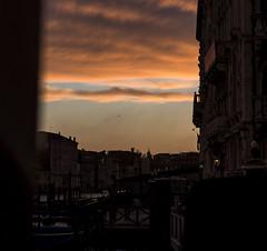 Venice (filippogatteschi) Tags: blue venice light sunset red urban orange sexy colors silhouette clouds contrast landscape canal high san tramonto nuvole purple geometry perspective lagoon shades semi marco 24 laguna tamron 70 venezia cloudporn prospettiva contrasto canon70d
