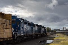 Coos Bay Hauler (Tom Trent) Tags: railroad diesel eugene locomotive freight coosbay emd gp38 gp30 bertelsen