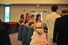 Britt & Chris's Wedding: The Ceremony (Brittany Neigh) Tags: chris carolyn ceremony val deborah roger britt teela regesterchapel lipinskineighwedding brittandchrisgetmarried