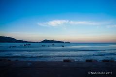 Sunrise at Patong Beach (akira.nick66) Tags: travel sea vacation sky holiday tourism beach beautiful relax thailand island travels tour view relaxing tourist enjoy thai traveling enjoying similan niceview amazingthai amazingthailand