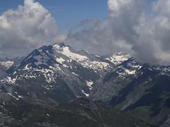 Widok z Gran Astazu na Vignemale