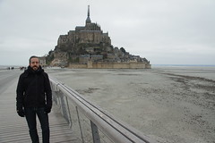 Mont Saint Michel, France, March 2016
