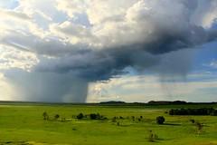 The storm cometh (rachFNQ) Tags: trip travel sky storm rain weather skyscape landscape australia kakadu lightning dramaticsky thunder ubirr travelphotography heavyweather wetseason biblicalstorm