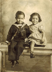 African American Children (USNavyRedhead) Tags: sailorsuit blackamericana africanamericanchildren