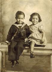 African American Children (USNavyRedhead) Tags: sailorsuit blackamericana africanamericanchildren