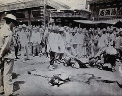 Rebels are beheaded in the streets following the Boxer Uprising, 1901 [3,166  2,488] #HistoryPorn #history #retro http://ift.tt/1Vhq0pg (Histolines) Tags: 2 3 streets history retro boxer timeline uprising following rebels 166 beheaded 1901 488  vinatage historyporn histolines httpifttt1vhq0pg
