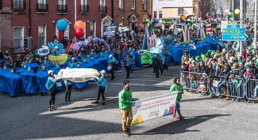 DIT - THE FUTURE IS PRESENT [ST.PATRICK'S DAY PARADE 2016]-112260