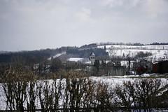 Eglise des Terres de Chaux (pepito2551) Tags: neige paysage glise canoneos400ddigital