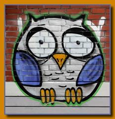 Graffito (p_jp55 (Jean-Paul)) Tags: germany deutschland modernart owl graffito allemagne trier rheinlandpfalz hibou eule trves trier