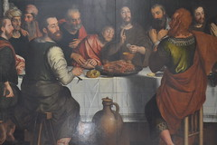 Detail from the Last Supper by Pieter Pourbus (1562). (greentool2002) Tags: from our detail church by lady last lieve peter bruges supper pieter onze pourbus 1562 vrouwekirk