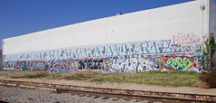 ROCK IT DON'T STOP IT, ROCK IT DONT STOP!! (Chasing Paint) Tags: graffiti la graff trackside traks lagraff lagraffiti spellout