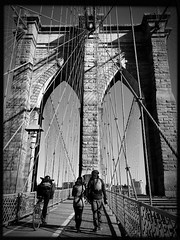 Brooklyn Bridge (ROY.NYC) Tags: blackandwhite bw blackwhite streetphotography brooklynbridge lowy photooftheday urbanstreet streetstyle nycstreetphotography mobilephotography iphoneonly hipstamatic theappwhisperer hipstography hipstaoftheday mobiography iphonephotographycentral shotoniphone6s