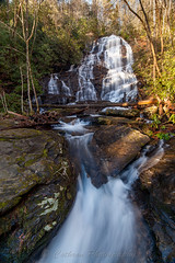 Horsetrough Falls (John Cothron) Tags: longexposure winter usa mountain cold nature water rock digital creek forest river georgia landscape morninglight us waterfall stream outdoor unitedstatesofamerica scenic sunny falling environment flowing thesouth dixie 15mm clearsky cpl protected freshwater unioncounty carlzeiss chattahoocheeriver blairsville americansouth southernregion circularpolarizingfilter chattahoocheeoconeenationalforest 35mmformat marktrailwilderness horsetroughfalls 5dmarkii 5d2 5dii johncothron 5dmkii canoneos5dmkii southatlanticstates cothronphotography chattahoocheewildlifemanagementarea horsetroughmountain distagon1528ze zeissdistagont2815mmze ©johncothron img12511160227