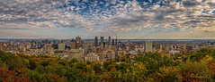 Montreal downtown (Cuong_D) Tags: sky cloud sun quebec montreal pano royal dowtown mont