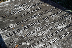 About Eighty Years (MTSOfan) Tags: cemetery grave sad servant epitaph hierarchy gravemarker caste
