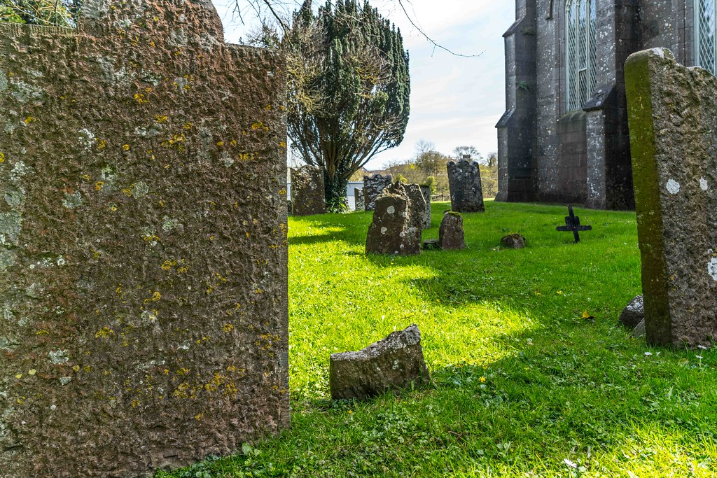 St. Columba's Church And Grounds In Swords County Dublin [Church Road]-115215