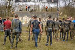 storm the castle (stevefge) Tags: girls people men netherlands sport mud nederland viking endurance berendonck nederlandvandaag reflectyourworld strongviking