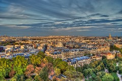 Rooftops Of Paris (gr8fulted54) Tags: paris nikon hdr on1 photomatix tonemapped d5100